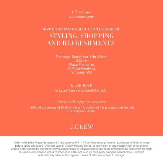 Store 524 SLU Cancer Center_Email_Invite