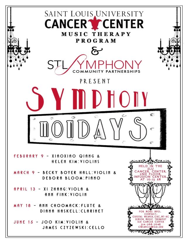 Symphony Mondays 8 by 11